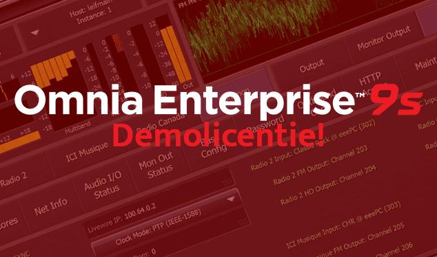 Omnia Enterprise 9s - Ontvang de demolicentie!