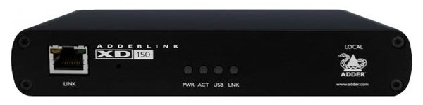 Afbeelding van Adder XD150 Adderlink XD150 DVI | USB | audio en serieel KVM extender set over C