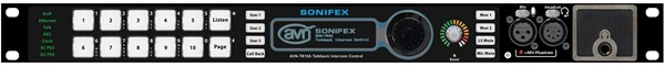 Afbeelding van Sonifex AVN-TB10AR 10 Button Advanced Talkback Intercom, AoIP Portal