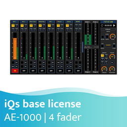Afbeelding van Axia iQs Virtual Mixing Console Software vier-fader basis licentie - AE-1000