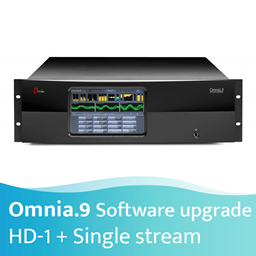 Afbeelding van Omnia.9 HD-1 + Single Streaming Option Software Upgrade