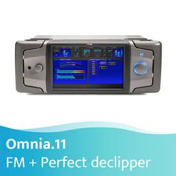 Afbeelding van Omnia.11 FM Multi-Band Audio Processor + Perfect Declipper (GEEN HD)